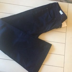 NWT Gap jeans, long and lean mid rise